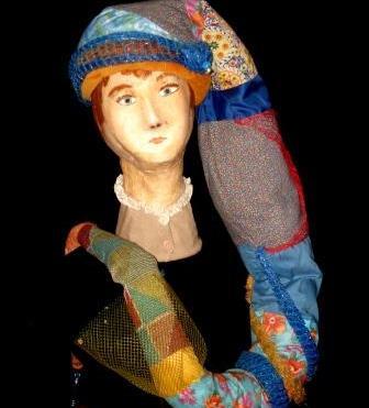 Balade, marotte et chapeau 185x30x30 cm