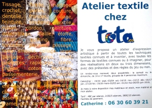 S'exprimer en textiles