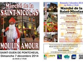 Marché de Noël et de la Saint Nicolas en Normandie près de Rouen