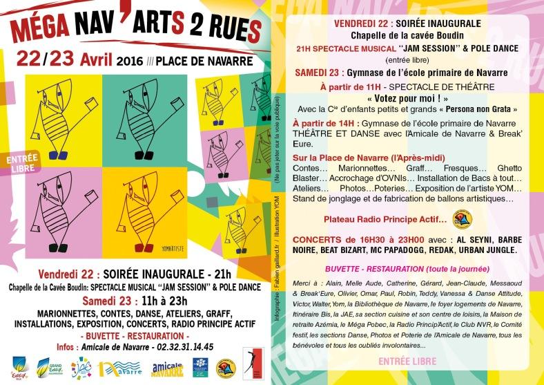 MEGA NAV'ARTS 2 RUES - WEB